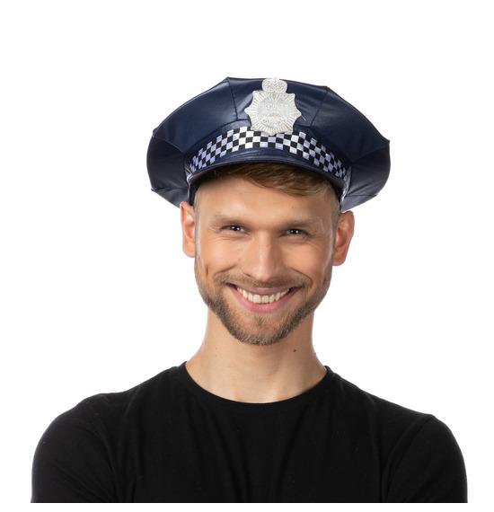 Dark Blue UK Police Hat
