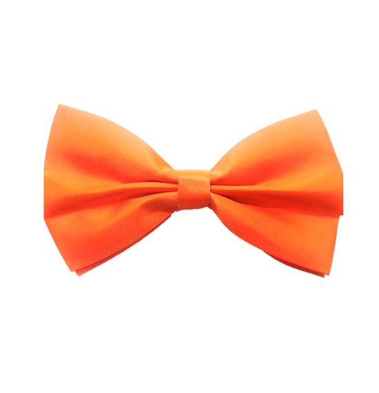 Orange Bow Tie