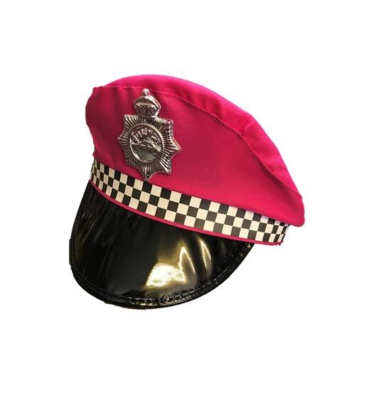 Pink UK Police Hat