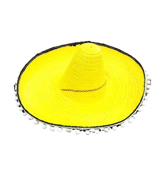 Yellow Mexican Sombero