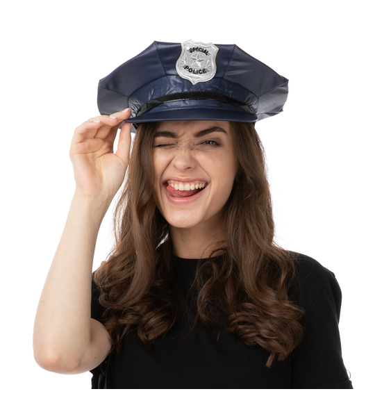 Blue Special Police Hat