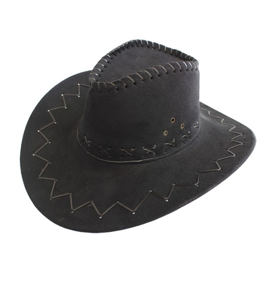 Children Black Cowboy Hat
