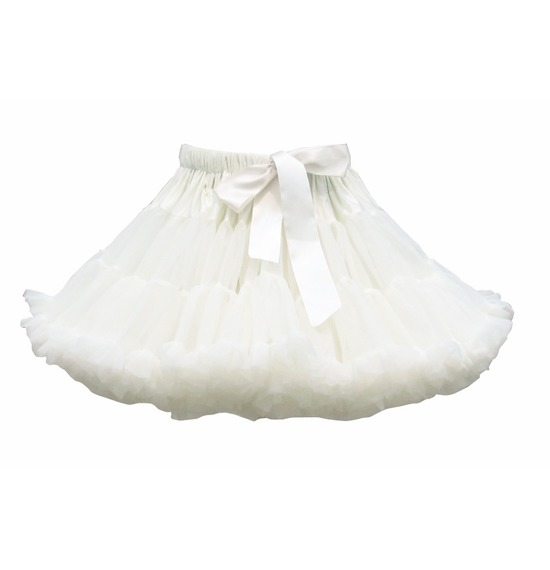 Luxury White TUTU