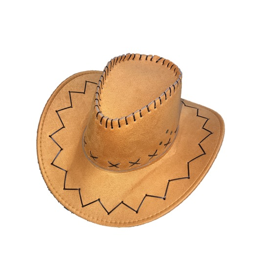 Light Brown Cowboy Hat