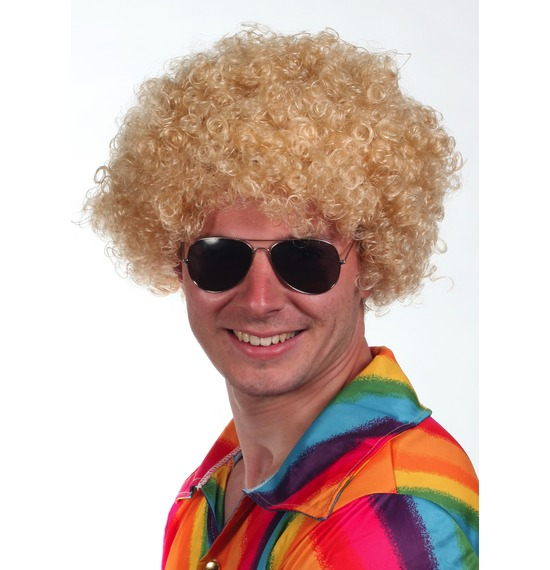 Blonde Afro Wig