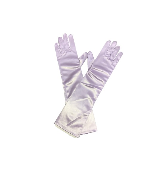 Lilac Long Gloves