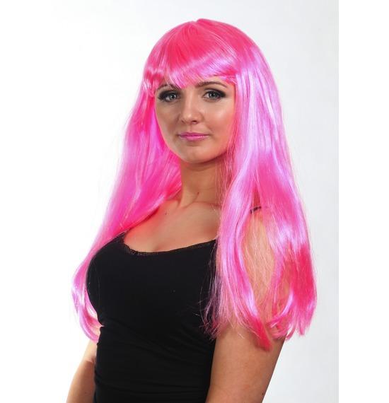 Pink Diva Wig