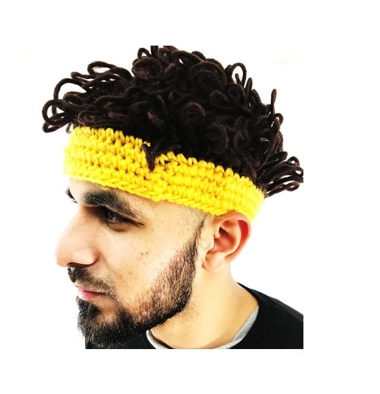 Afro Hat Yellow