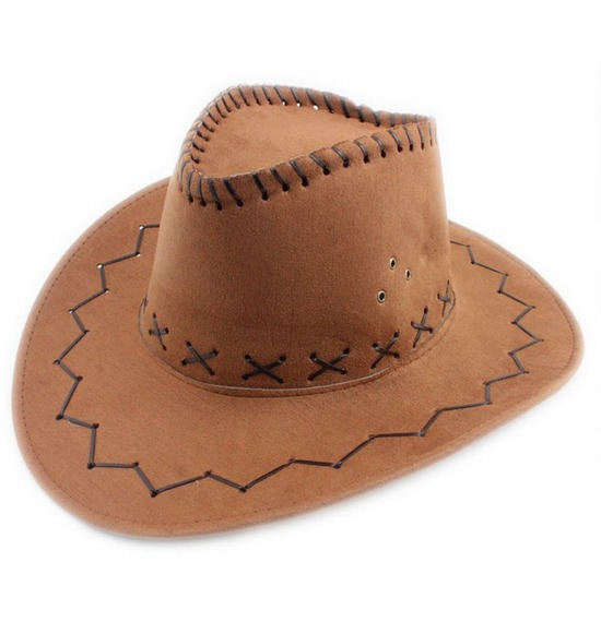 Children Light Brown Cowboy Hat