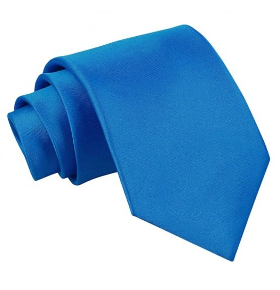 Blue Long Tie