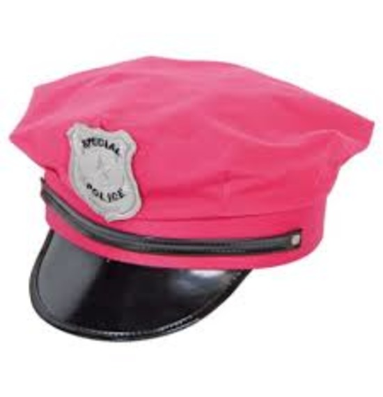 Special Police Pink Hat