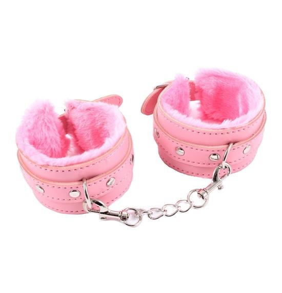 Pink Bondage Handcuffs