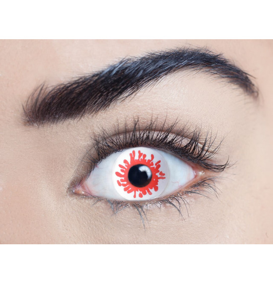 Mesmereyez Blood Splat Contact Lenses