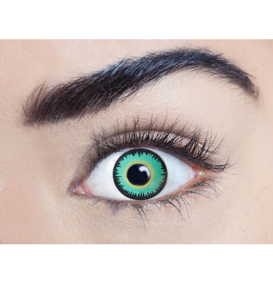 Mesmereyez Green Werewolf Contact Lenses