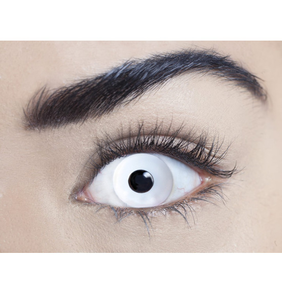 Mesmereyez Mini Sclera White Contact Lenses