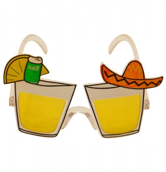 Yellow Mexican Glasses