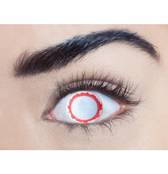 Mesmereyez Blind Vampire Contact Lenses