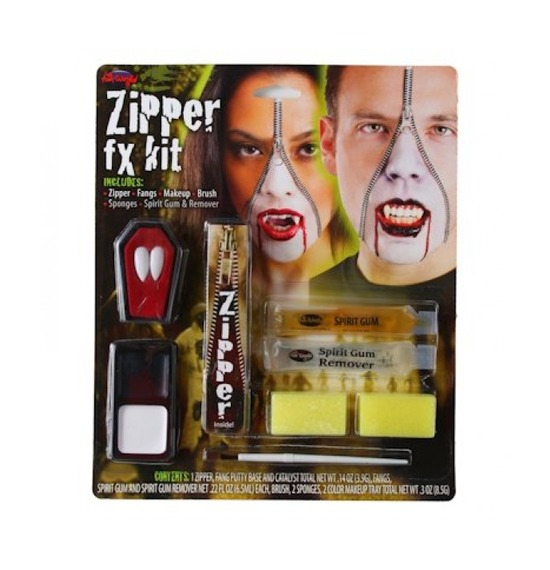 Zipper FX Kit, Vampire Teeth