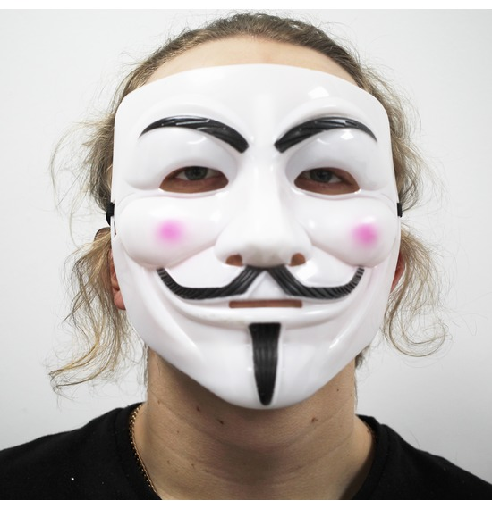 White Vendetta Mask