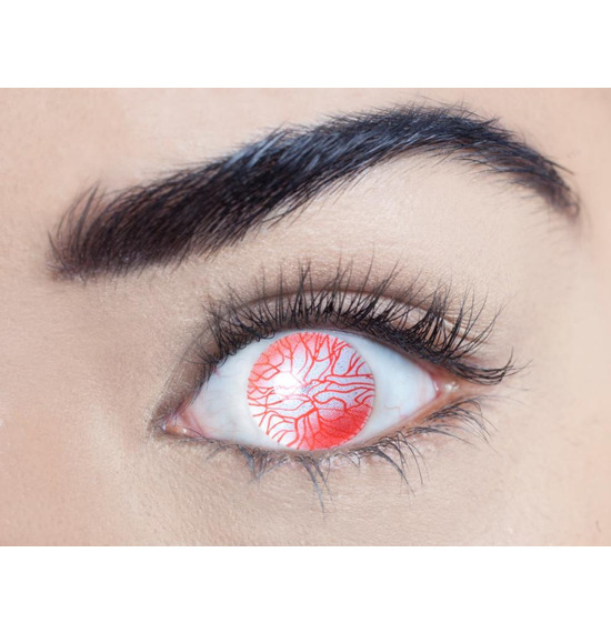 Mesmereyez Blind Walking Dead Contact Lenses