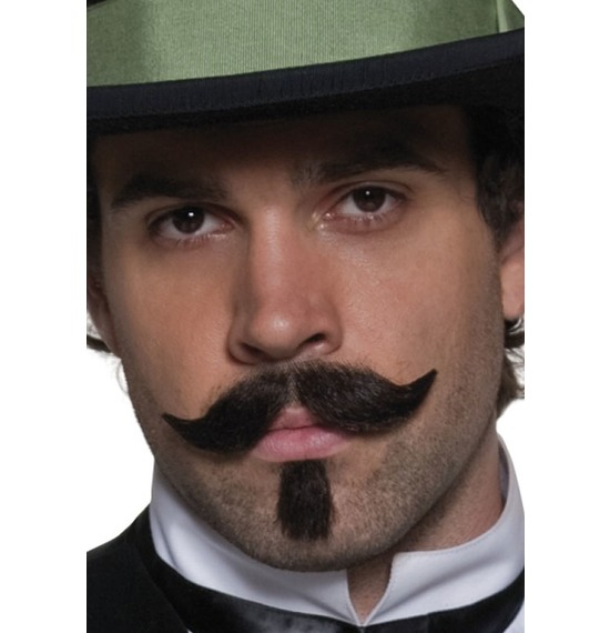 Authentic Western Gambler Moustache