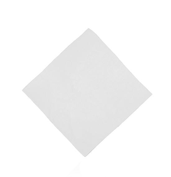 White Plain Bandana