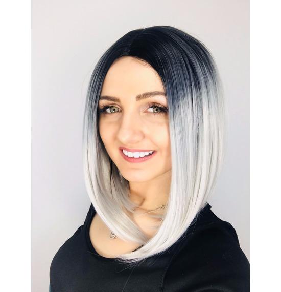 Black & Grey Wig