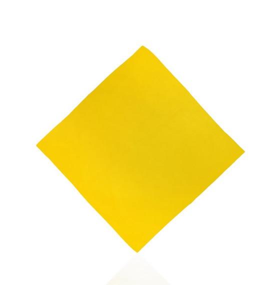 Yellow Plain Bandana