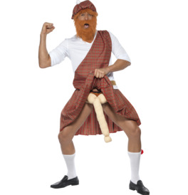Smiffys Well Hung Highlander Costume