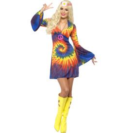 Smiffys 1960s Tie Dye Costume