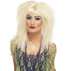 Smiffys 80s Trademark Crimp Wig
