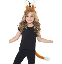 Fox Ears Headband and Tail