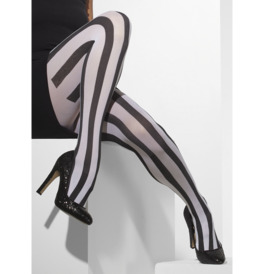 Opaque Tights, Black & White