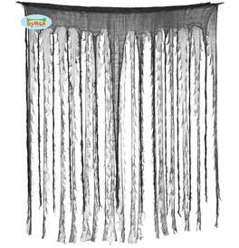Black and Grey Curtain 150 x 190cm