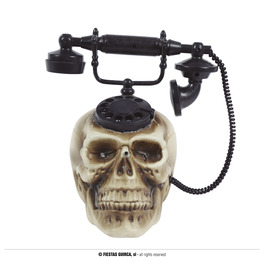 Skull Telephone with Sound