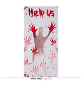 Help Us Door Decoration