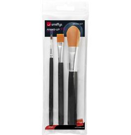 Cosmetic Brush Set, Pack of 3