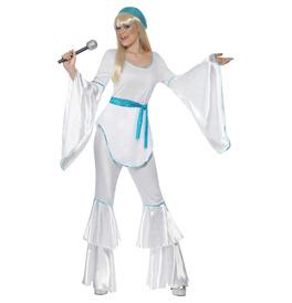 Smiffys Super Trooper Costume, White