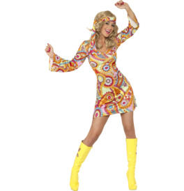 Smiffys 1960s Hippy Costume