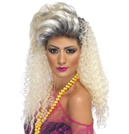Smiffys 80's Bottle Blonde Wig