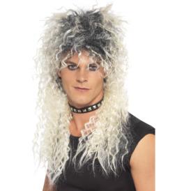 Hard Rocker Wig, Two Tone Blonde