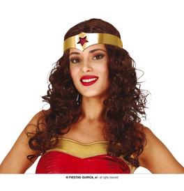Superhero Wig with Headband
