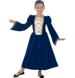 Smiffys Tudor Princess Girl Costume