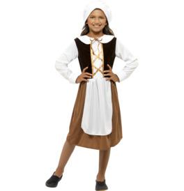 Smiffys Tudor Girl Costume