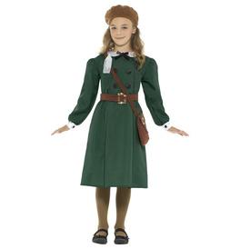 Smiffys WW2 Evacuee Girl Costume