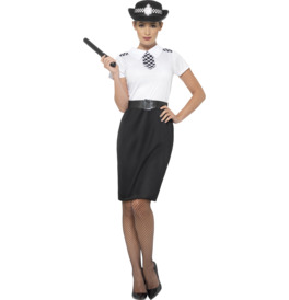 Smiffys British Police Lady Costume