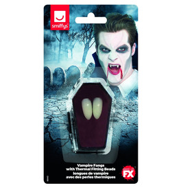 Vampire Fangs, with Thermal Fitting Beads