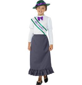 Smiffys Victorian Suffragette Costume