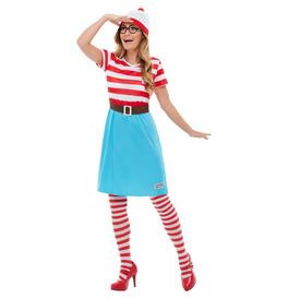 Smiffys Wheres Wally? Wenda Costume