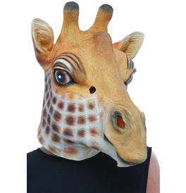 Giraffe Latex Mask